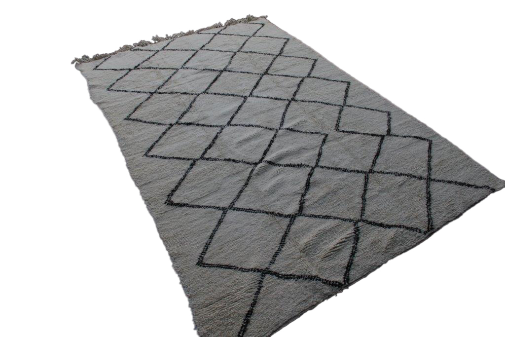 Beni Ouarain vloerkleed uit Marokko no 2591 (343cm x 217cm)