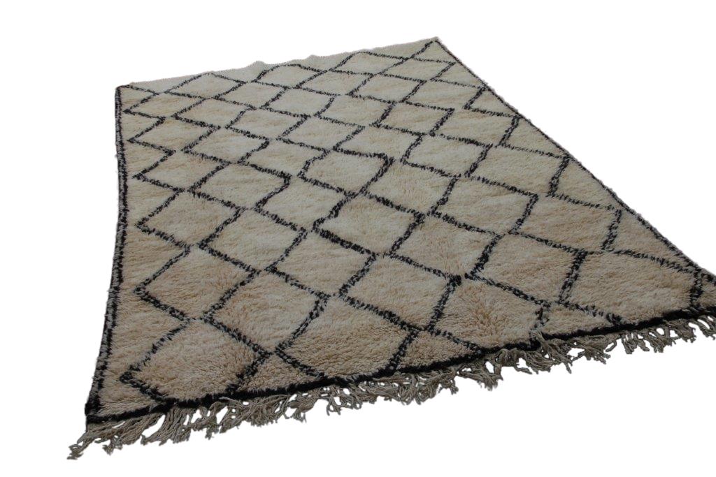 Beni Ouarain vloerkleed uit Marokko no 2599 (295cm x 190cm)  NIEUW BINNEN OP VOORRAAD!