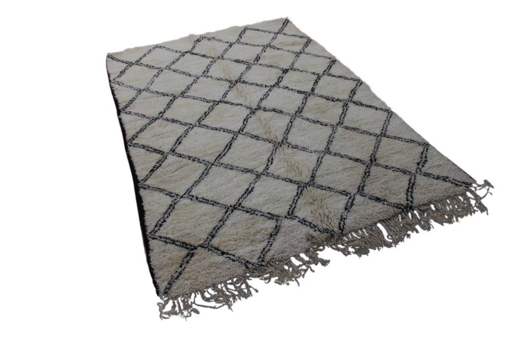 Beni Ouarain vloerkleed uit Marokko no 2610 (277cm x 201cm)