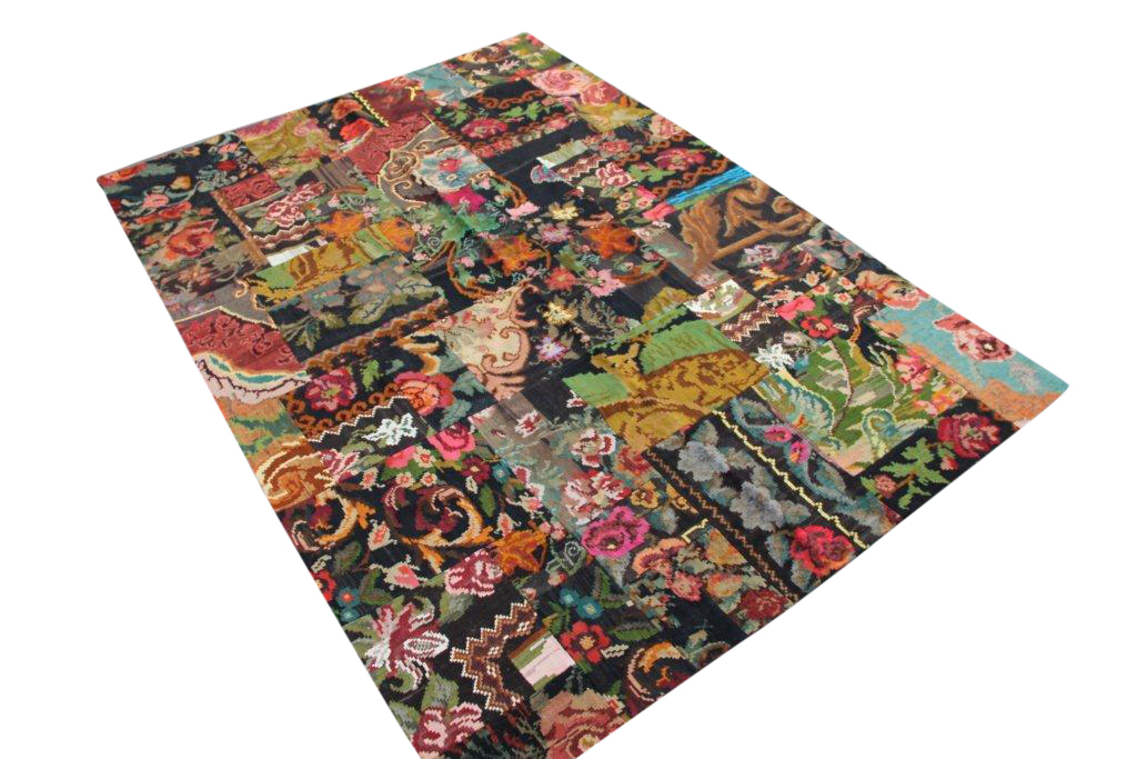 Kelim patchwork  2651D (298cm x 210cm) rozenkelim patchwork