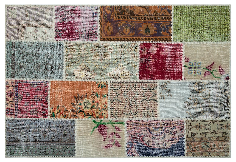 patchwork vloerkleed 26510