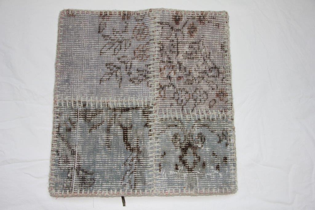 Patchwork recoloured kussen 45 cm x 45 cm, no 271 (incl binnenkussen) beide kanten recoloured stof!