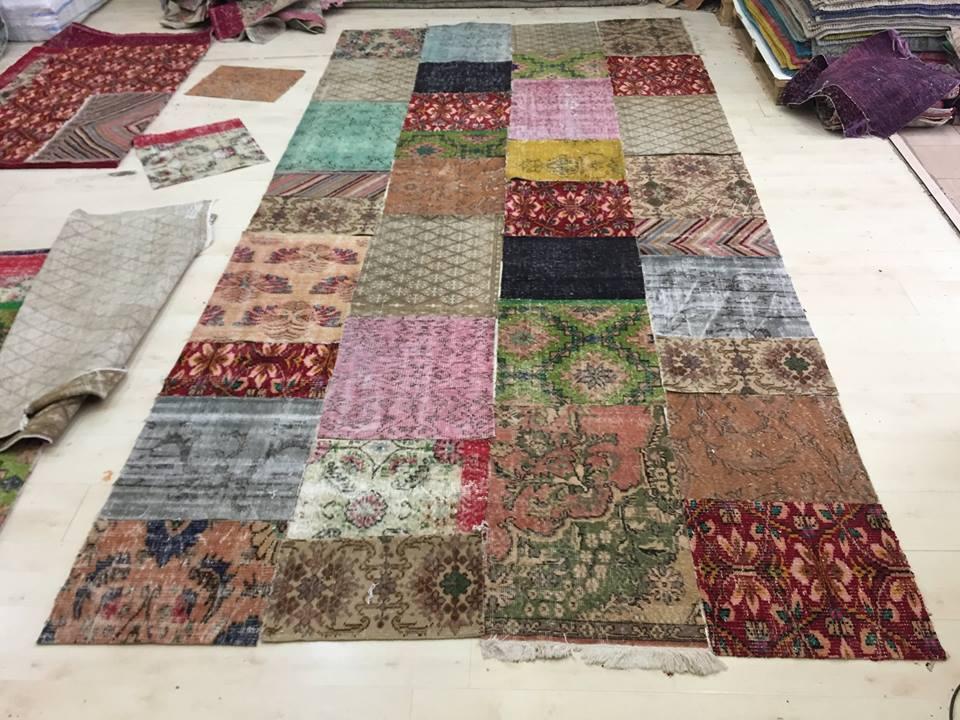 patchwork op maat en kleur