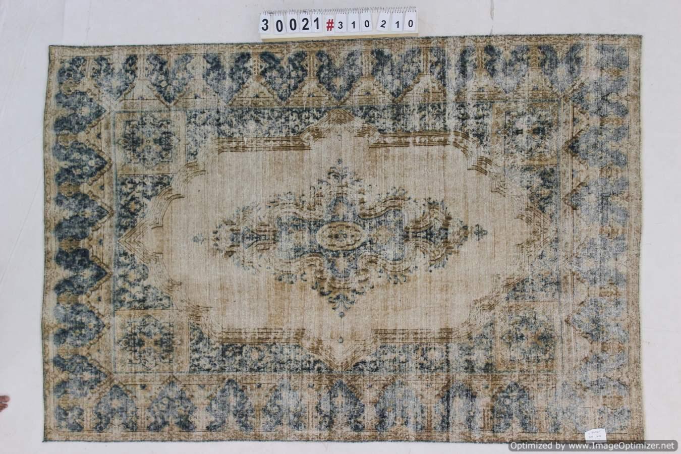 Recoloured tapijt uit Iran 30021 (310cm x 210cm)