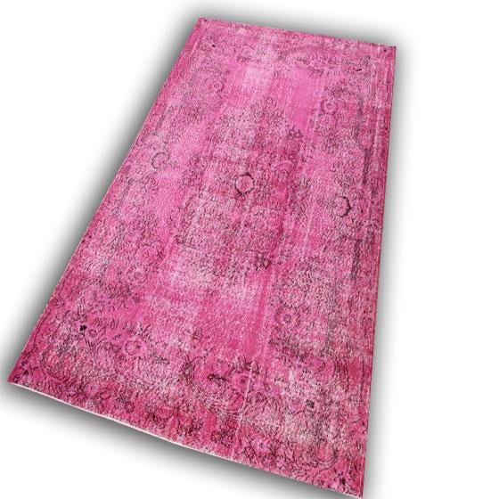 Vintage roze vloerkleed Facebook aanbieding 31 (295cm x 190cm)
