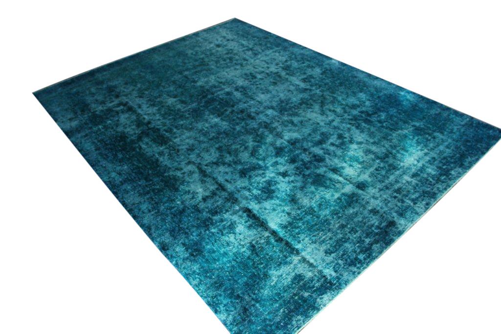Recoloured vloerkleed nr 33309 (356cm x 260cm) tapijt wat een nieuwe hippe trendy kleur heeft gekregen.