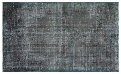 vintage vloerkleed grijs groen 34339 255cm x 154cm
