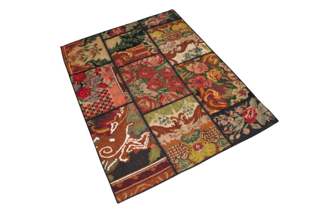 Kelim patchwork  035D (203cm x 153cm)