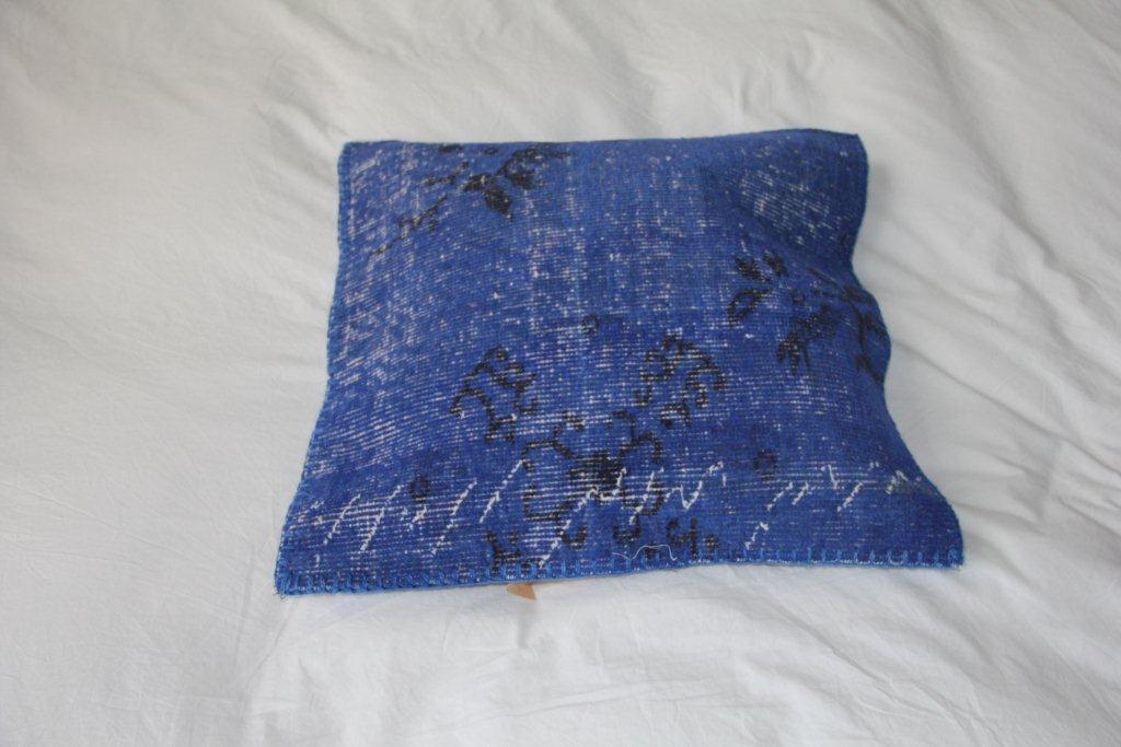 Blauw kussen EL351a (50cm x 50cm)