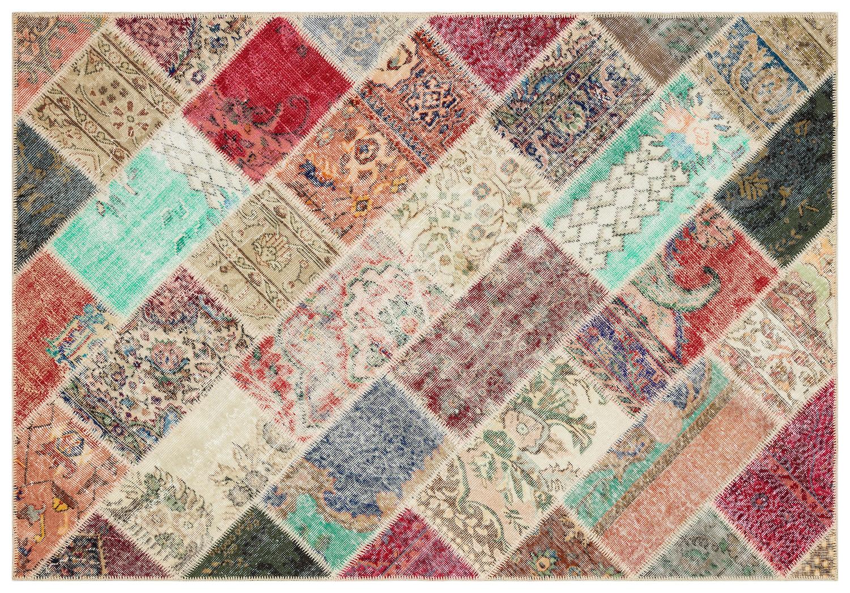 patchwork vloerkleed 35461