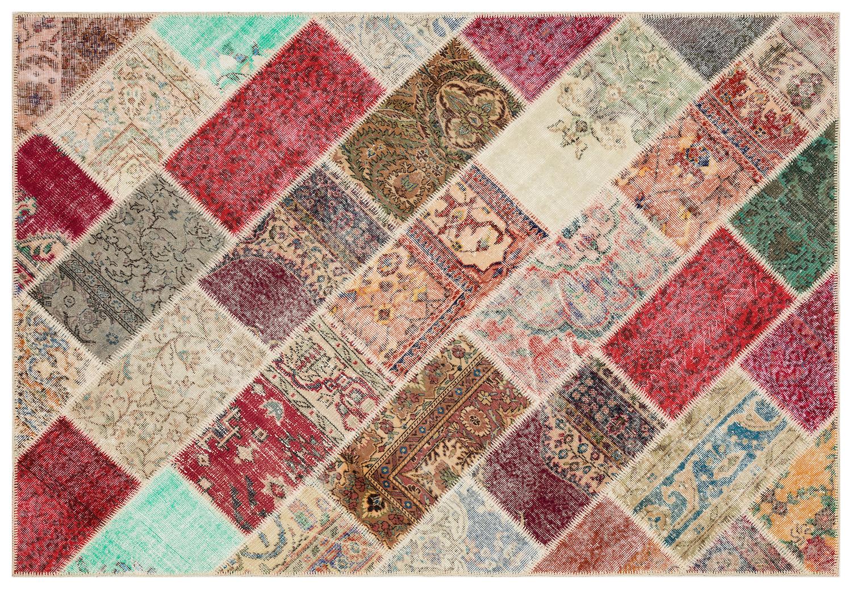 patchwork vloerkleed 35462