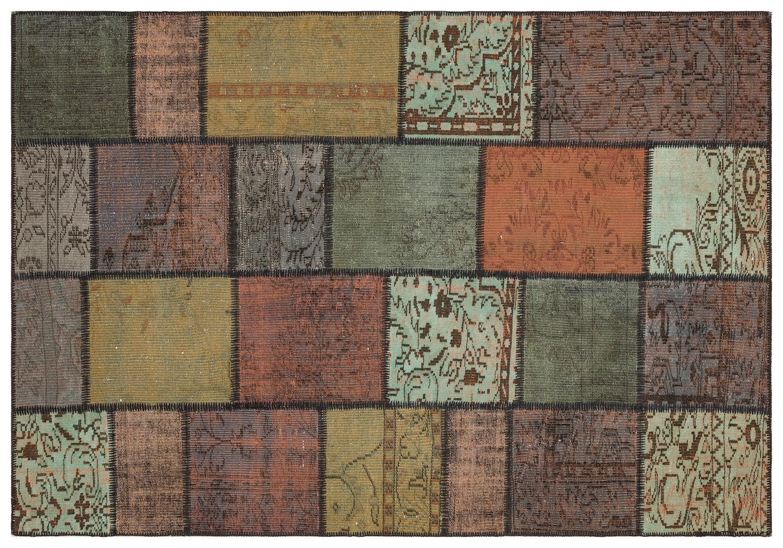 patchwork vloerkleed 35465