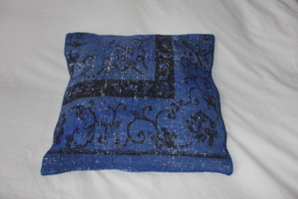 Blauw kussen EL358 (50cm x 50cm)