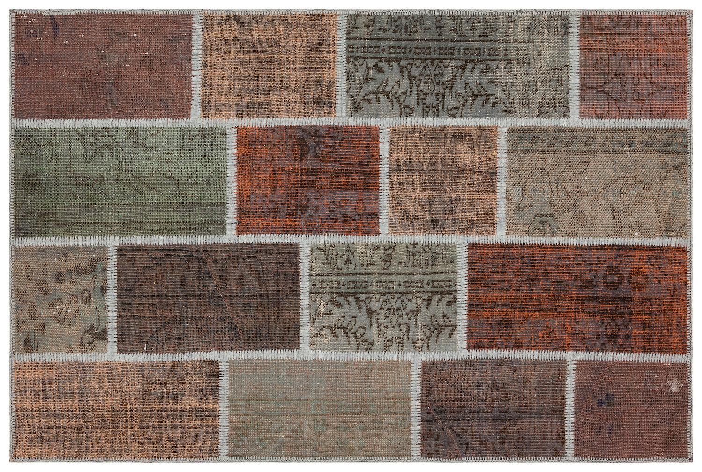 patchwork vloerkleed 35802