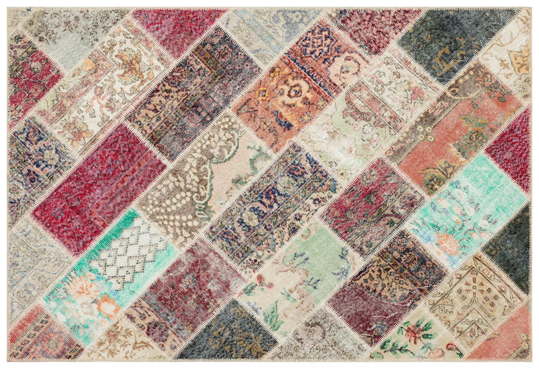 patchwork vloerkleed 35829
