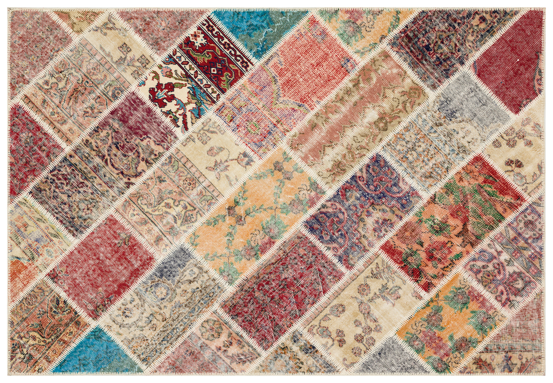 patchwork vloerkleed 35845