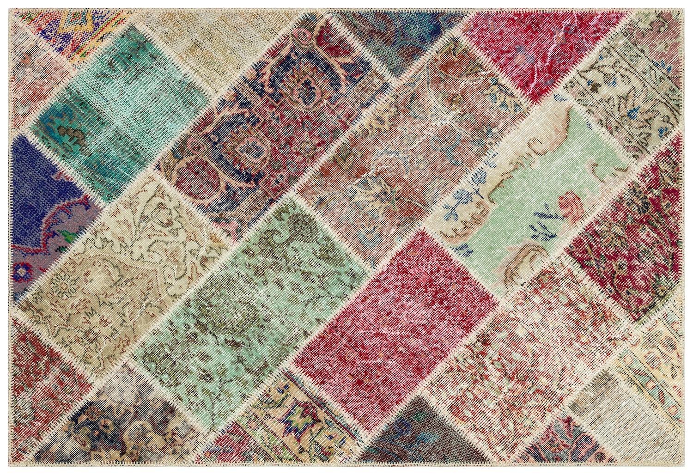 patchwork vloerkleed 36217