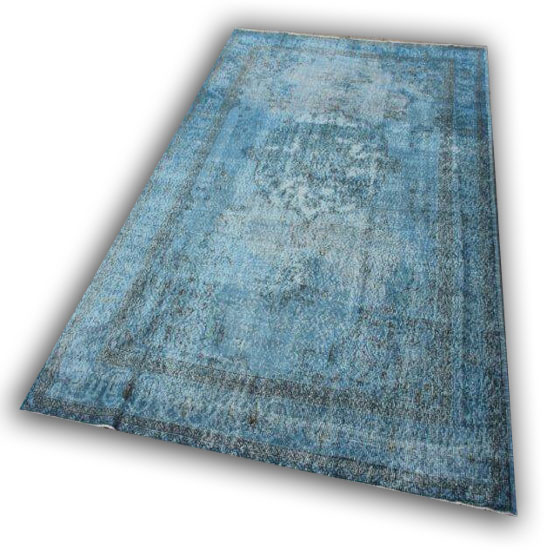 Lichtblauw vloerkleed 377 verkocht!!  (340cm x 215cm)