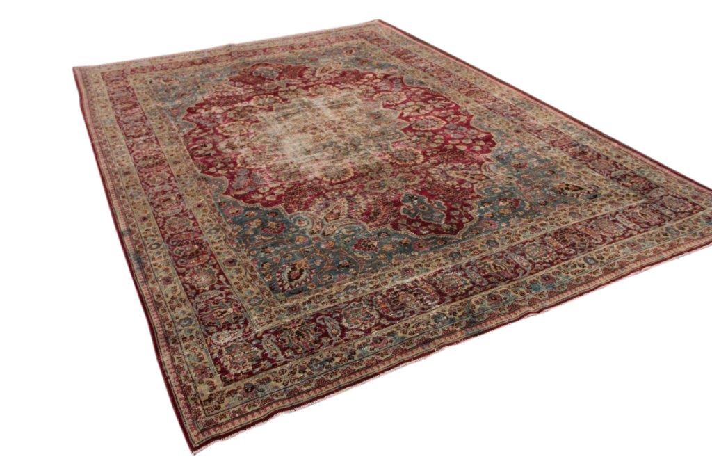 Antiek kirman tapijt 350cm x 250cm