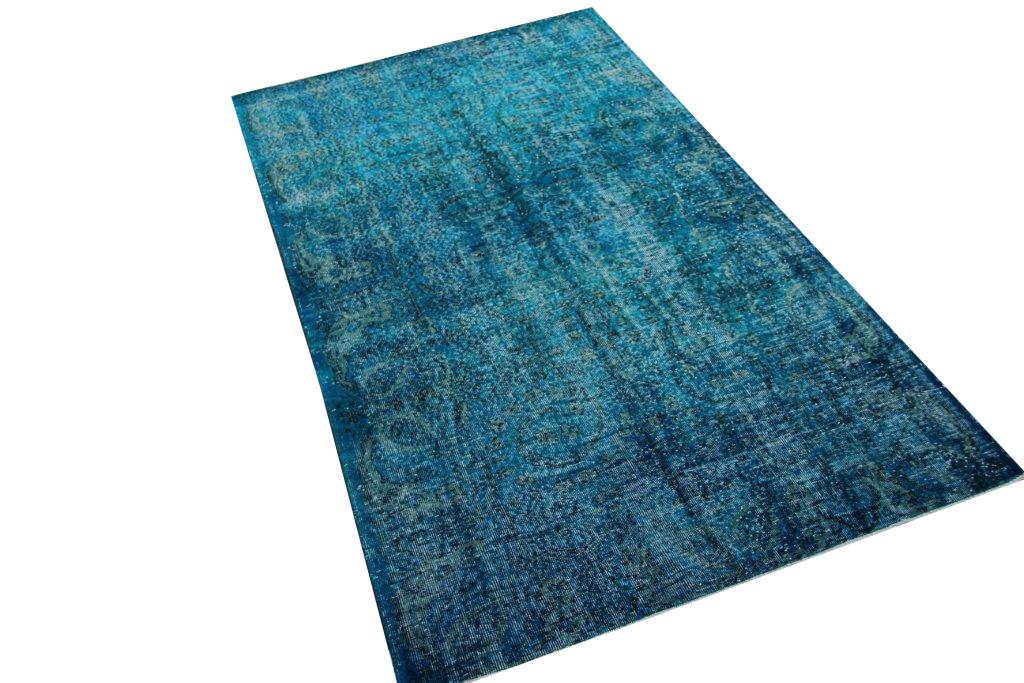 Blauw vloerkleed nr 4039 (269cm x 151cm)