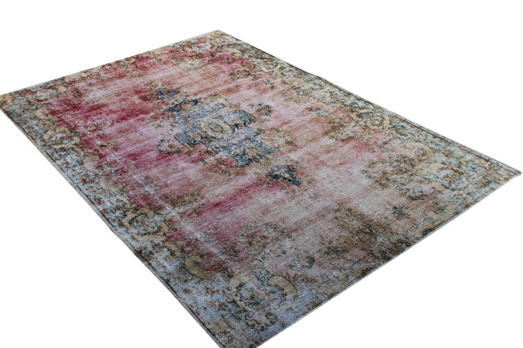 Recoloured perzisch tapijt 4041 (303cm x 202cm)