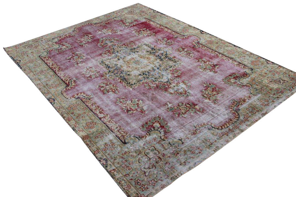 Vintage perzisch tapijt 406 (300cm x 226cm)