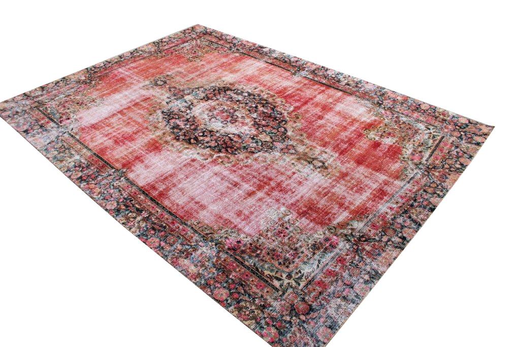 Perzisch Tapijt Tweedehands : Perzisch tapijt vintage beautiful tweedehands vloerkleed elegant
