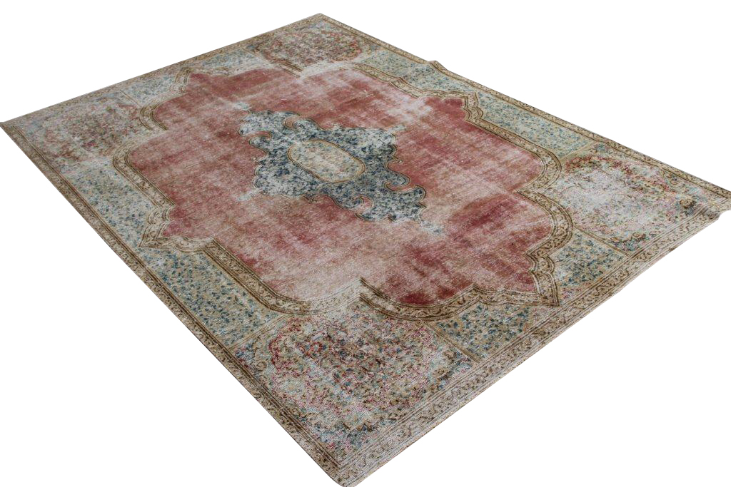 Vintage perzisch tapijt 414 (293cm x 204cm)