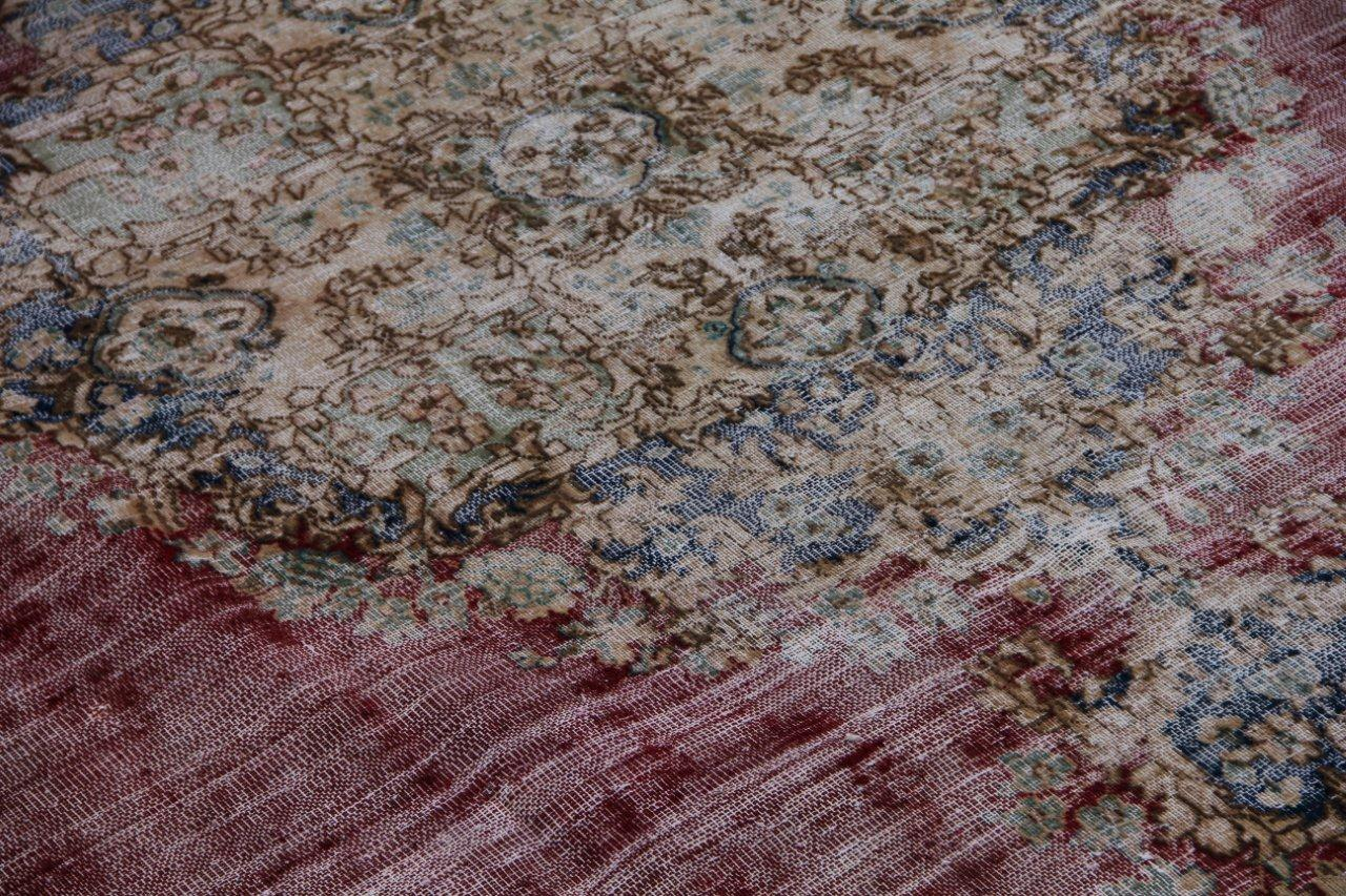 Vintage recoloured perzisch tapijt 41541 (379cm x 271cm)