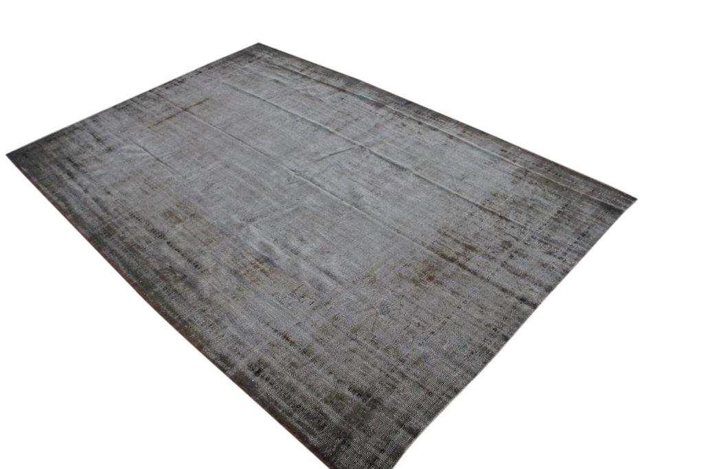 NIEUW BINNEN taupe versleten look vloerkleed  uit Turkije 327cm x 228cm, no 437