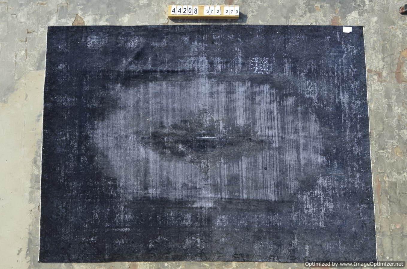 Antraciet vintage vloerkleed nr 44208 ( 372cm x 270cm) Nieuw ingekocht, vanaf 10 April op voorraad!