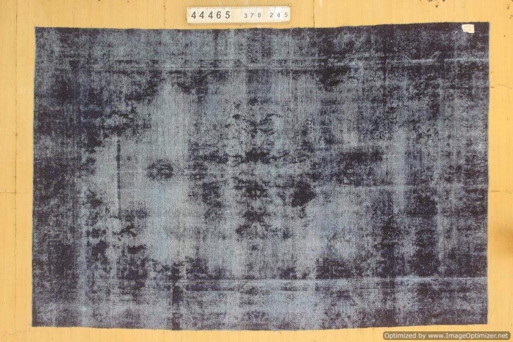 Zwart 30 tot 80 jaar oud vloerkleed  (geschoren en gewassen) 370cm x 245cm, no 44465 Leverbaar vanaf 25 februari, nu bestelbaar