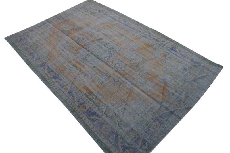 Geschoren vintage vloerkleed nr 459(305cm x 192cm) Gratis bezorging, niet tevreden is geld terug!