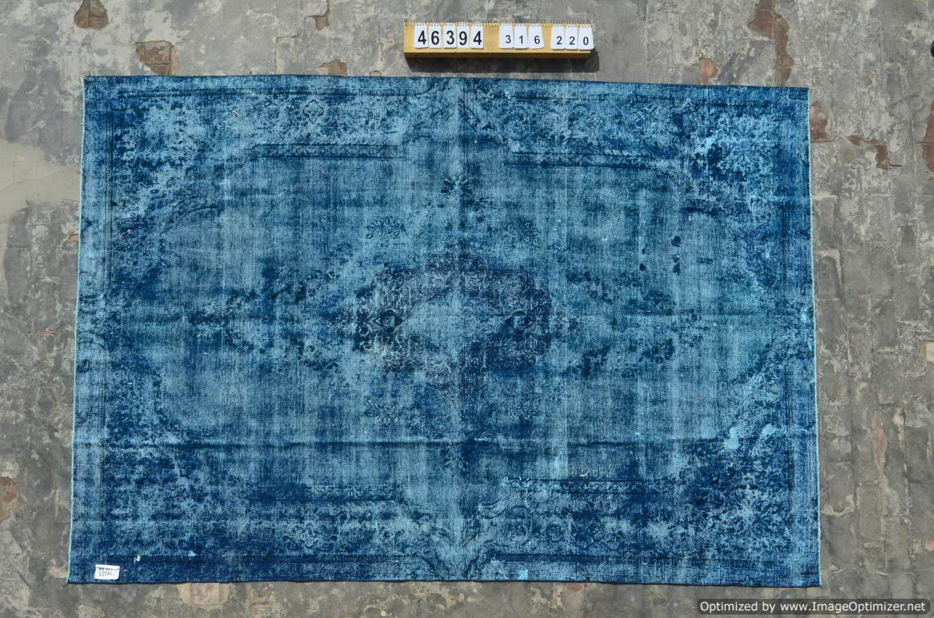 Blauw vintage vloerkleed nr 46394 ( 316cm x 220cm) Nieuw ingekocht, vanaf 10 April op voorraad!