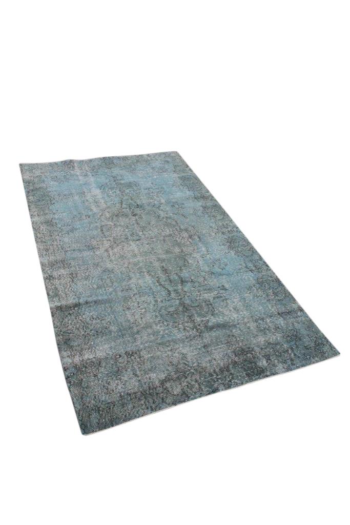 Blauw vintage vloerkleed nr 4750 (271cm x 160cm)