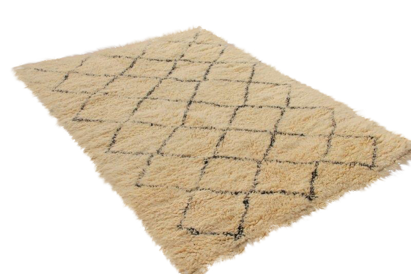 Beni Ouarain vloerkleed uit Marokko 280cm x 202cm (nr 4800)