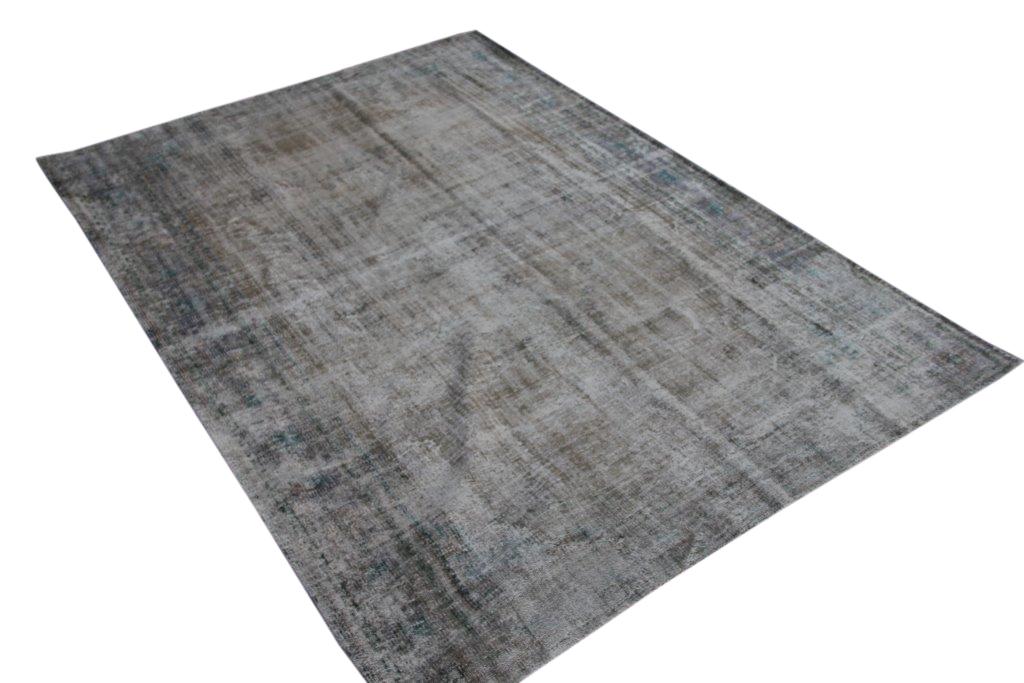 NIEUW BINNEN taupe versleten look vloerkleed  uit Turkije 280cm x 200cm, no 496