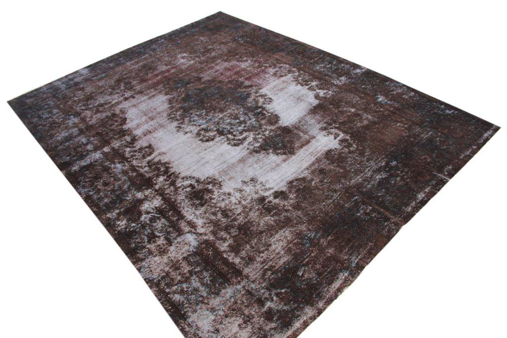 Bruin recoloured  vloerkleed nr 50045 (350cm x 269cm)