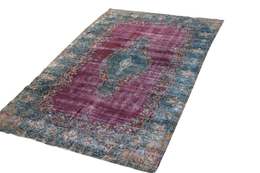 Zeer groot vintage recoloured perzisch tapijt 50083 (512cm x 319cm)