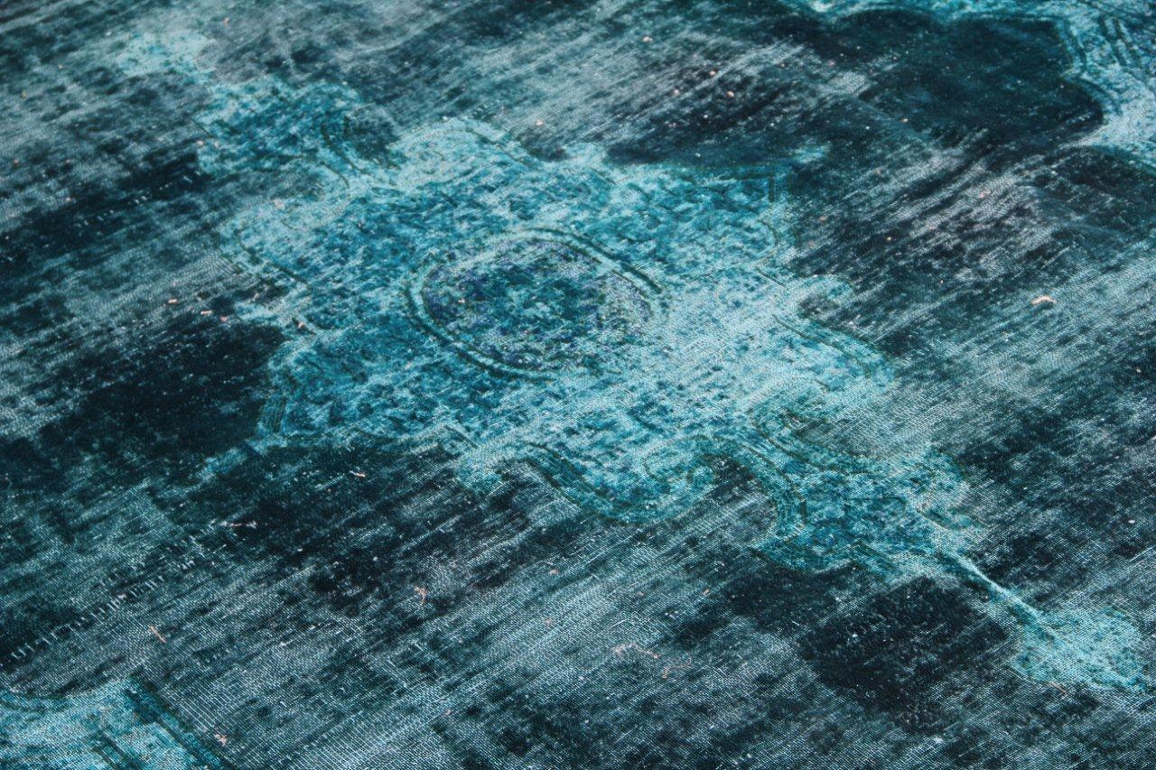 Vintage recoloured perzisch tapijt 50086 (372cm x 275cm)  VOS