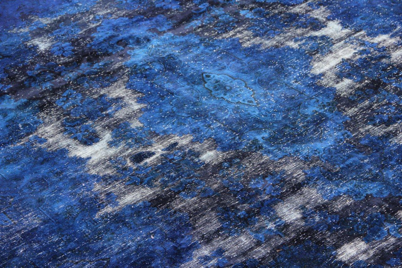 Vintage recoloured perzisch tapijt 50091 (325cm x 235cm)