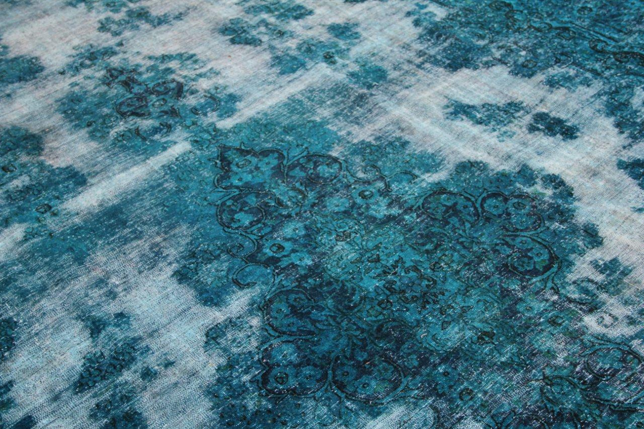 Vintage recoloured perzisch tapijt 50097 (485cm x 287cm)