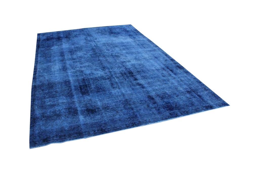 Blauw vintage vloerkleed nr 50106 (326cm x 219cm) Gratis bezorging, niet tevreden is geld terug!