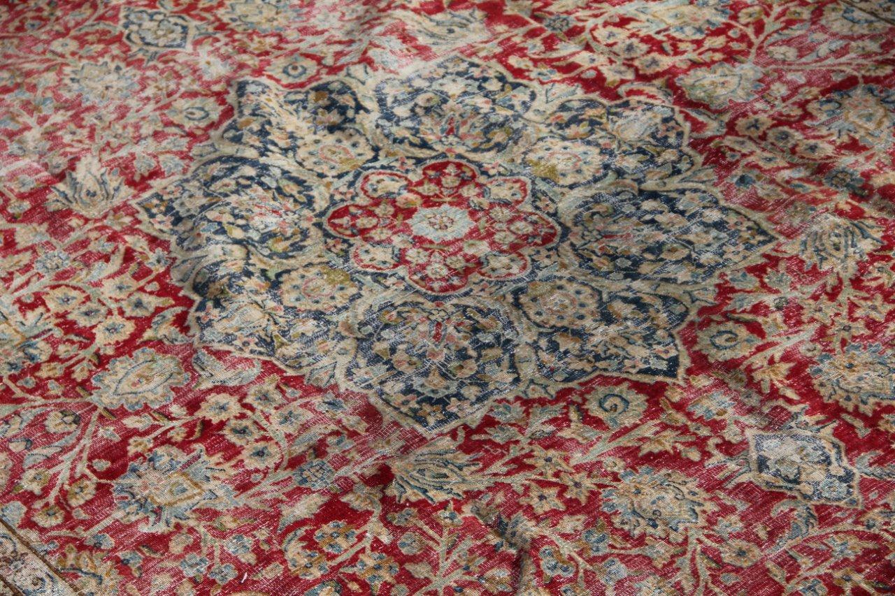 Vintage recoloured perzisch tapijt 50131 (320cm x 238cm)