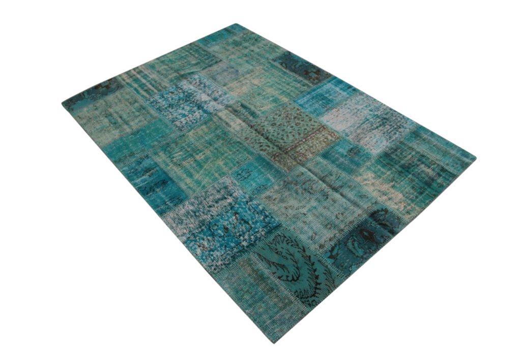 Vintage patchwork vloerkleed 5021 (240cm x 170cm) Verkocht!!
