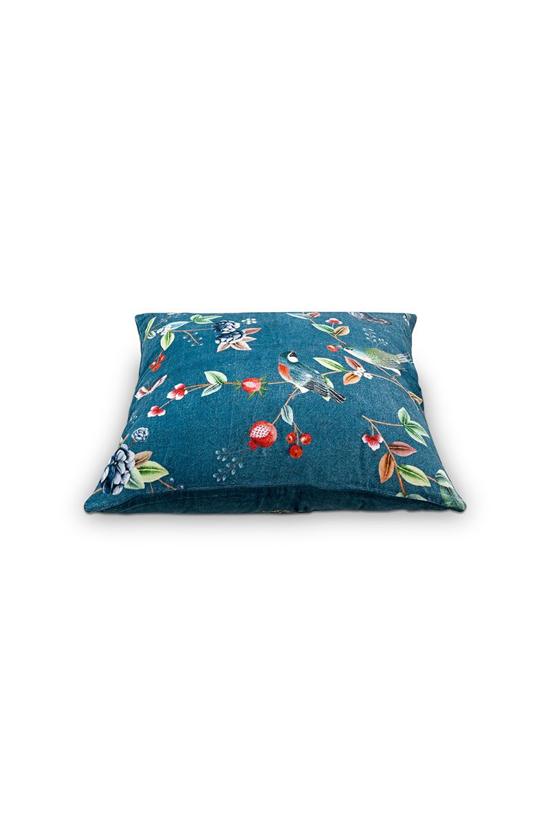Kussen pip birdy blue 60cm x 60cm