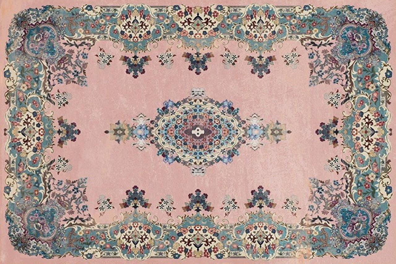 Oud roze vloerkleed met zachte pool, verkrijgbaar in diverse maten