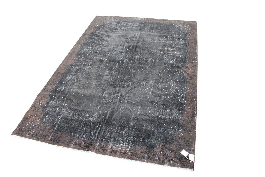 Zwart bruin vloerkleed nr 519   (308cm x 214cm) VERKOCHT