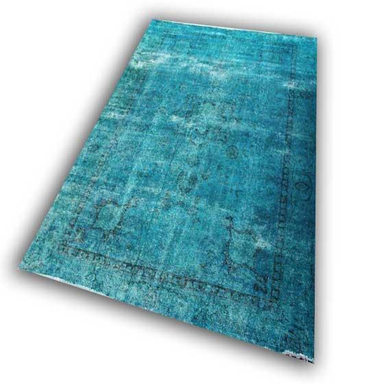 Zeegroen tapijt 52 (309cm x 231cm)