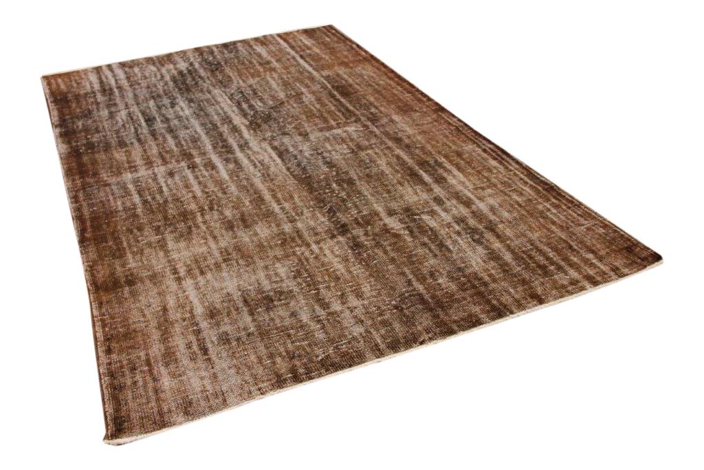 Chocolade bruin vintage vloerleed 285cm x 183cm